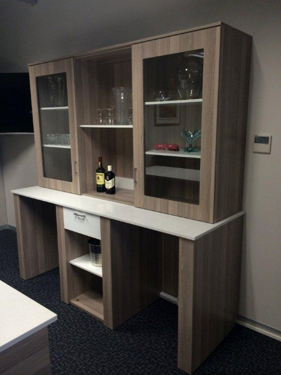 Office pub/bar and display unit