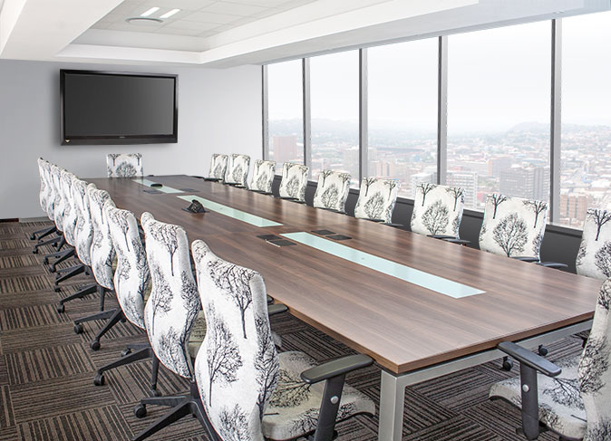 Transnet Corporate Office reception and boardroom