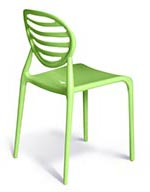 Cubicle chair in Transnet corporate green