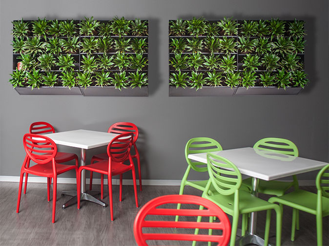 Transnet plastic furniture for kitchen eating area