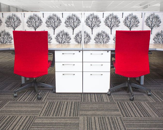 Corporate Red Office Chairs