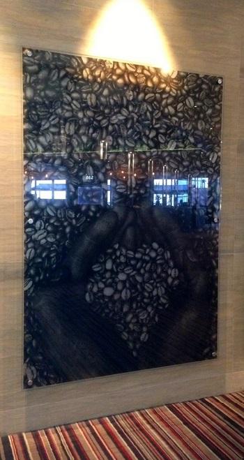 Printed Glass Art Image