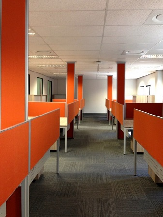 Open Plan Cluster Workstations Image