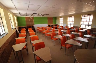 Student school desks and chairs