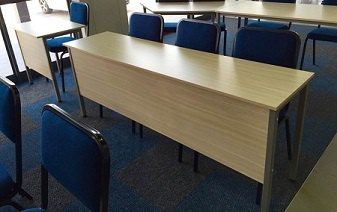 Training Room Desks and Chairs Image