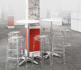 Transparent Ghost Stools Image