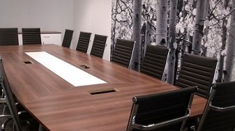 Walnut Boardroom Table Image
