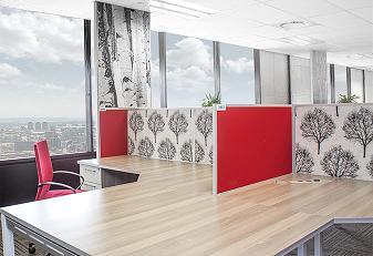 Office workspace desks