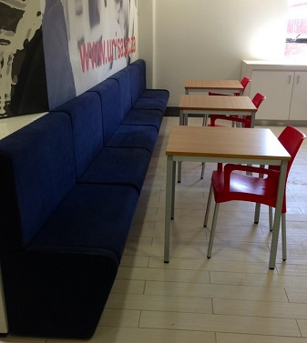 Canteen soft seating