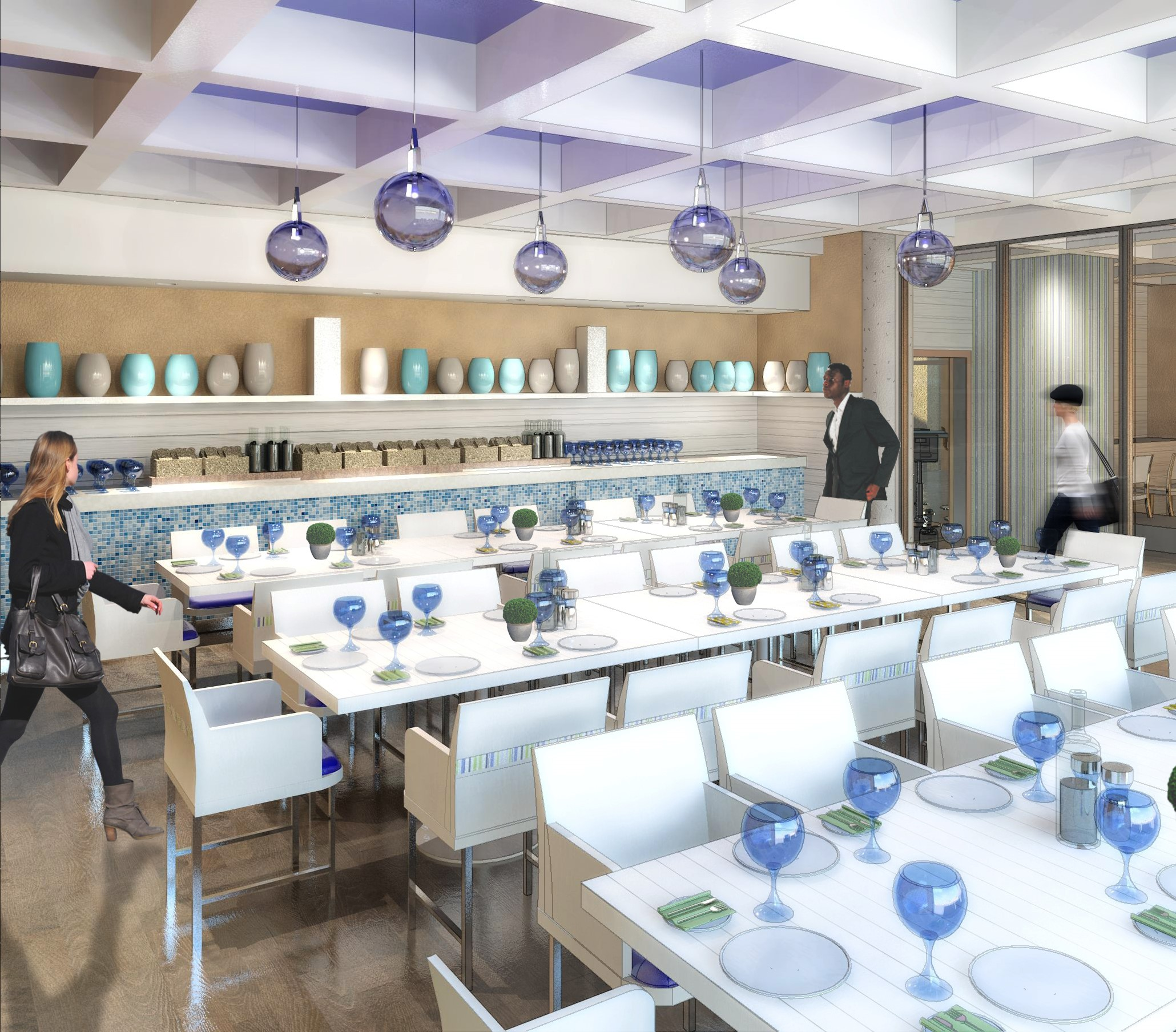 Interior Design - Dining Facility Image