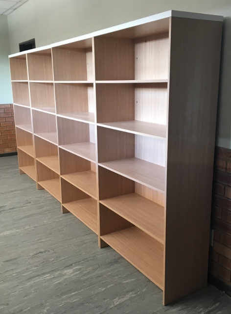 School Bookcase 1800 high x 900 wide compartments Image