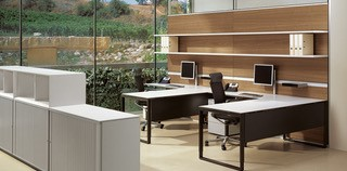 Semi Open Plan Workstations .. Image