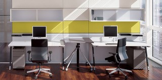 Semi Open Plan Workstations Image