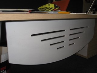 Steel Modesty panel for desks Image