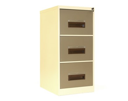 Storage - Steel 3 drawer filing unit Image