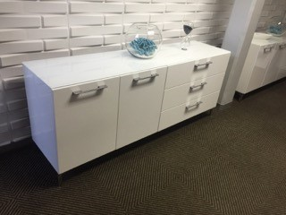 White Storage Unit for Boardroom Image