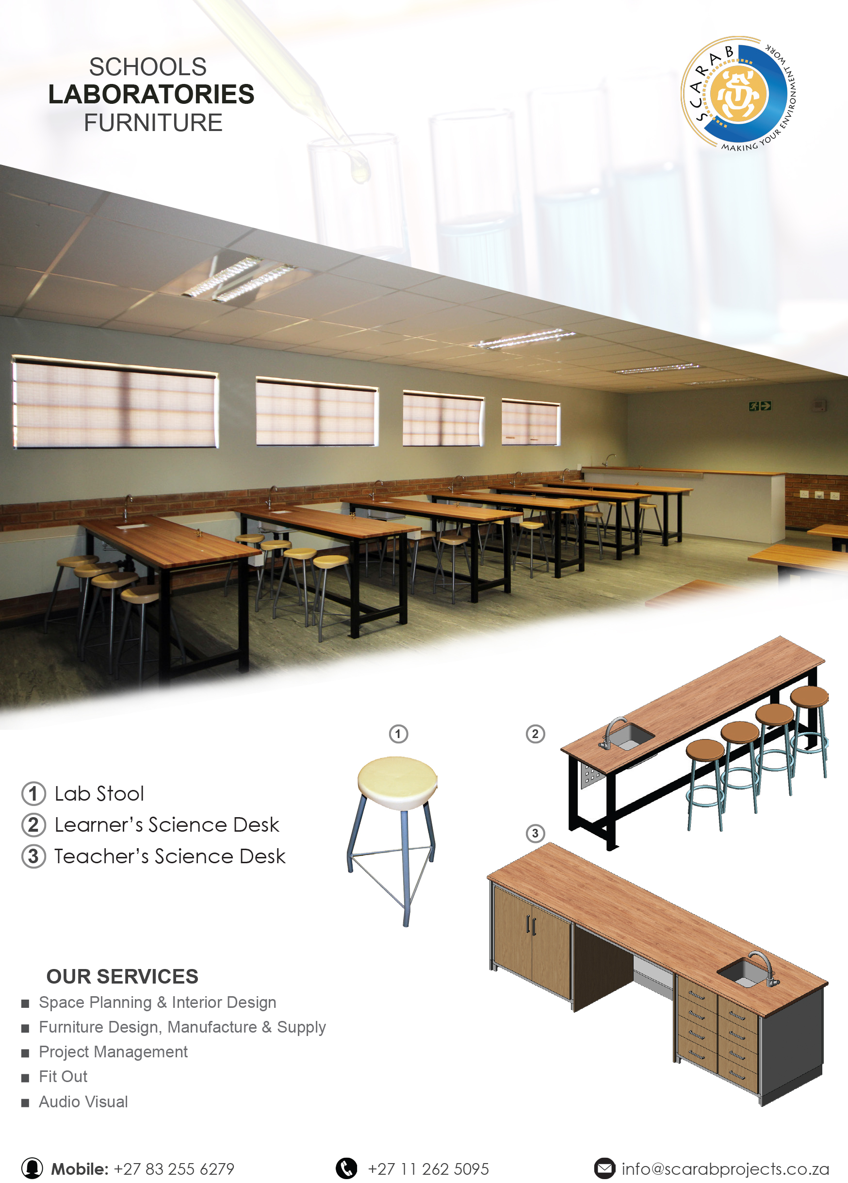 Laboratory Science School Furniture
