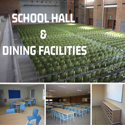 School Hall, Dining Facilities and Staff Canteen Image