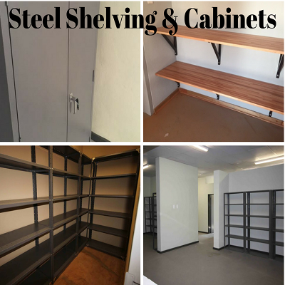 Steel Shelving and Cabinets Image