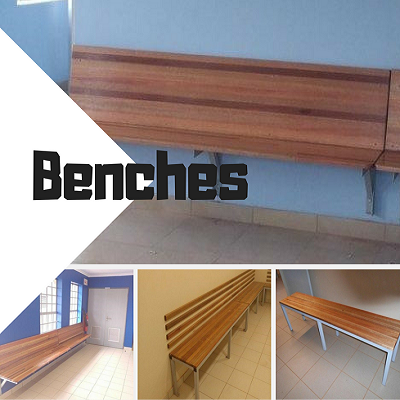 School Benches Image