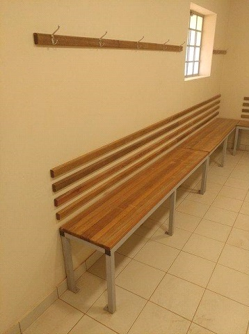 Change room benches