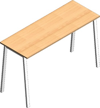 Free standing exam table