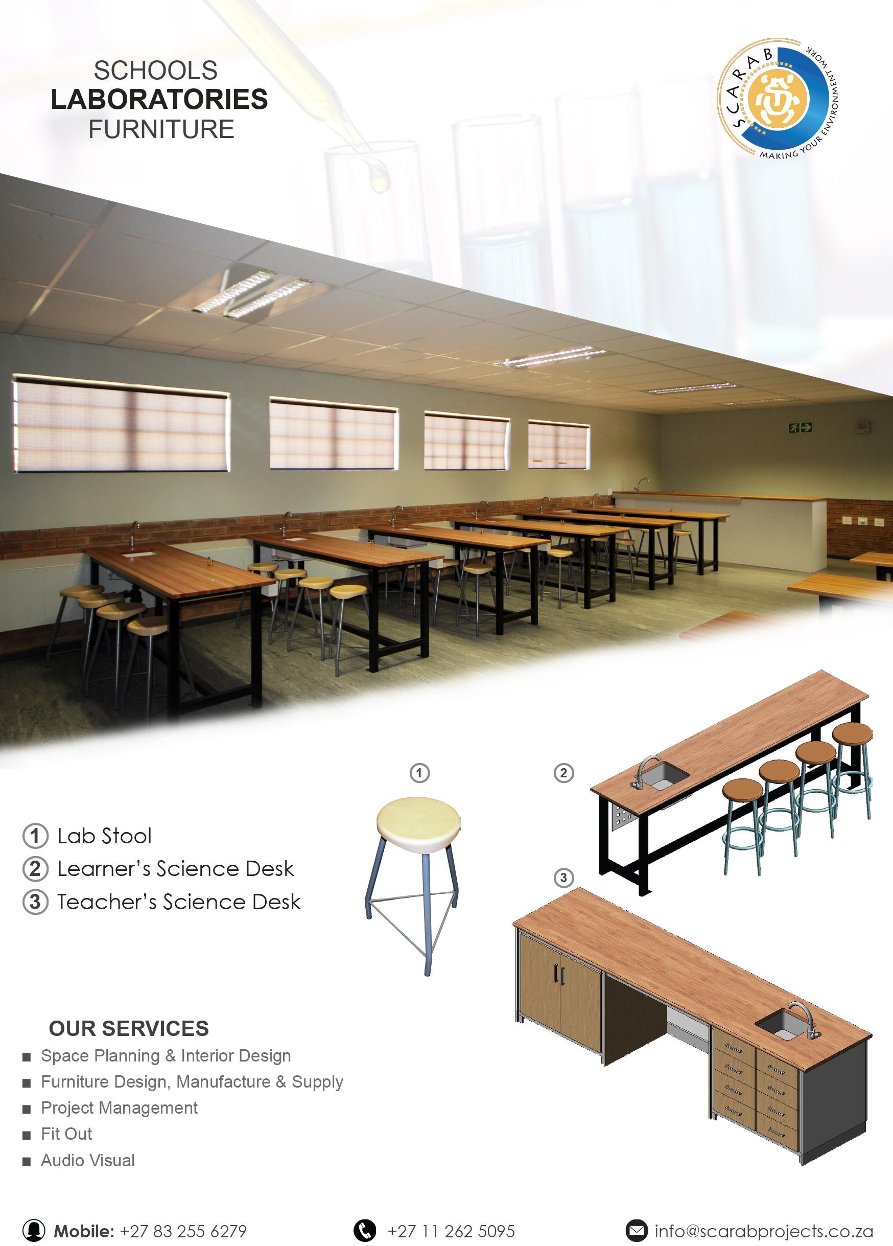 Laboratory Science School Furniture